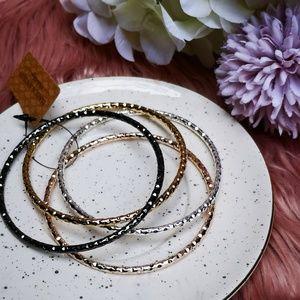 💍Vintage Metal Jewelry Bracelets Set